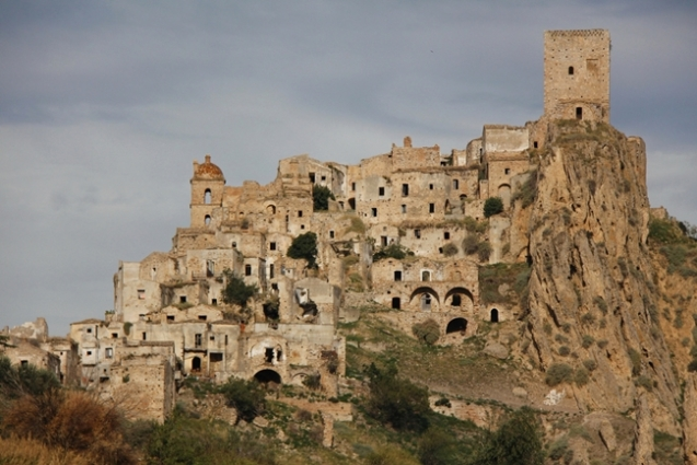 Abandoned Ghost Town Of Italy - Craco